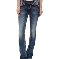 Rock Revival Sukie B203 Bootcut in Dark Indigo Dark Indigo - Zappos.com Free Shipping BOTH Ways