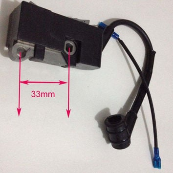 Chainsaw Ignition coil fit Chinese chain saw 4500 5200 5800 45 52 58 Ignition mould spare parts