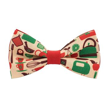 Cooking Utensils Bow Tie