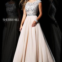 Sherri Hill Dress 21053 at Peaches Boutique