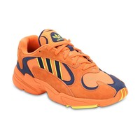 Orange and Navy Yung 1 Sneakers by Adidas Originals
