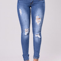 Too Much Booty Jeans - Medium