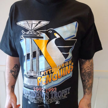 Vintage pittsburgh penguins apparel