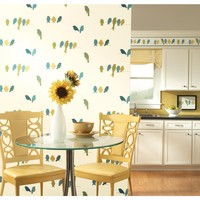 York Wallcoverings Bistro 750 Bird On A Wire Wallpaper KB85