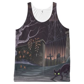Halloween All-Over Print Tank Top