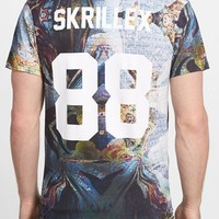 Men's ELEVENPARIS 'Skrillex' Graphic T-Shirt