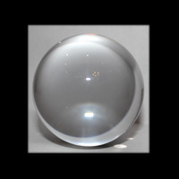 "110mm Clear Crystal Ball (4"")"