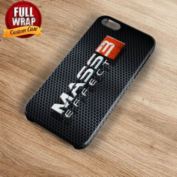 Mass Effect 3 Logo Full Wrap Phone Case For iPhone, iPod, Samsung, Sony, HTC, Nexus, LG, and Blackberry