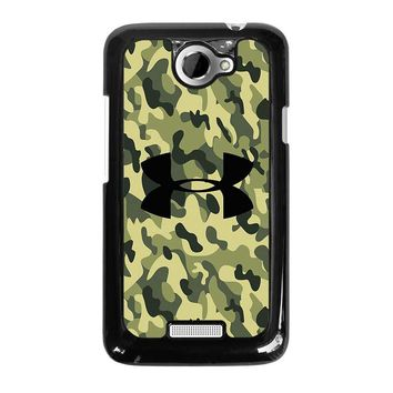 CAMO BAPE UNDER ARMOUR HTC One X Case Cover