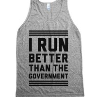 Athletic Grey Tank | Funny Political Shirts