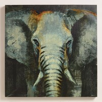 """Safari Elephant"" by Liz Jardine - World Market"