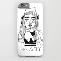 Halsey iPhone & iPod Case by ☿ Cactei ☿ | Society6