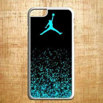 CREYUG7 Mint Glitter michael jordan for iphone 4/4s/5/5s/5c/6/6+, Samsung S3/S4/S5/S6, iPad 2/