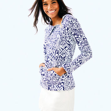 UPF 50+ Booker Popover | 30540-brightnavypineappleparty | Lilly Pulitzer