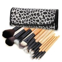 12 PCS Makeup Cosmetic Toiletry Eyeshadow Powder Brush Set Kit+Case : Amazon.ca: Beauty