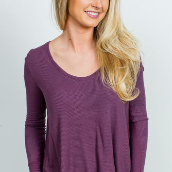 Free People Malibu Thermal - Twilight Mauve