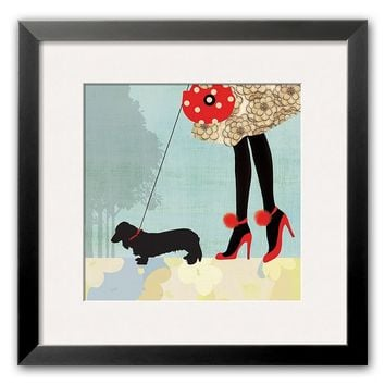 Art.com ''Best Friend Ii'' Framed Art Print by Allison Pearce (Blue)