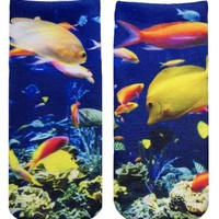 Coral Reef Ankle Socks