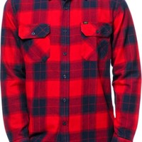 Obey Rampart Flannel Button Up Shirt