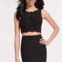 Alyce 4463 Two Piece Dress with Lace Top