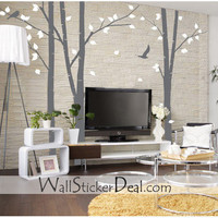 3 set Birch Forest Wall Stickers – WallStickerDeal.com