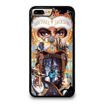 MICHAEL JACKSON DANGEROUS iPhone 4/4S 5/5S/SE 5C 6/6S 7 8 Plus X Case