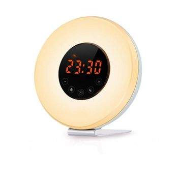 Smart Wake Up Light Alarm Clock