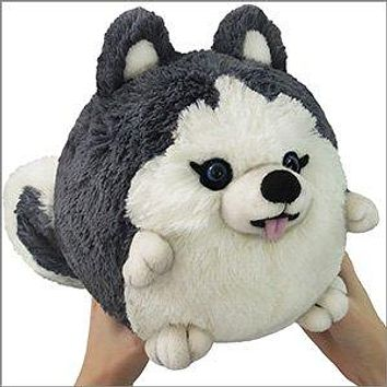 Mini Squishable Husky  7""