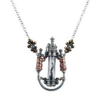 GMT Electro Magnetic Chamber Alchemy Gothic Necklace