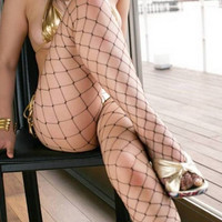 Great fun sexy mesh / net tights / pantyhose fishnet stockings = 1933006660