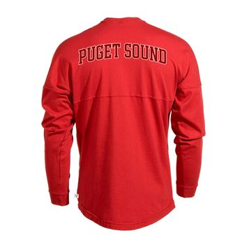 University of Puget Sound Loggers NCAA T-Shirt Women's Long Sleeve Spirit Wear Jersey T-Shirt