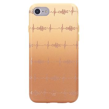 Coffee Vitals Chrome iPhone Case