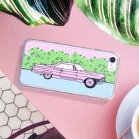 Pink Cadillac iPhone Case