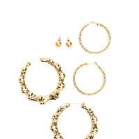 Natural Vibes Earring Set