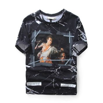 Off-White Punishment Marble T-Shirt