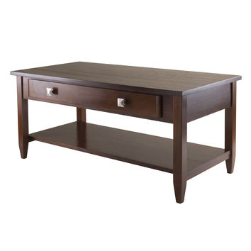 Winsome Richmond Coffee Table with Tapered Leg