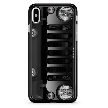 Jeep Body Wrangler iPhone X Case