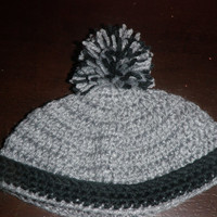 South Park inspired baby hat, crochet baby hat made to order