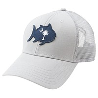Skipjack State Trucker Hat - SC in Grey by Southern Tide