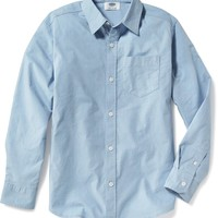 Built-In-Flex Classic Shirt for Boys   Old Navy
