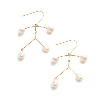 Shena Pearl Orbit Earrings