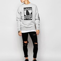 adidas Originals | adidas Originals Graphics Sweatshirt AB8027 at ASOS