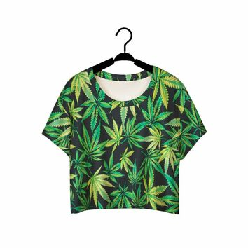 Artsy 3D Crop Tops (Many Dope Designs)