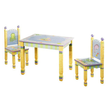 Fantasy Fields - Under The Sea Table & Set of 2 Chairs