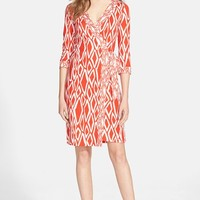 Women's Diane von Furstenberg 'Julian' Silk Wrap Dress
