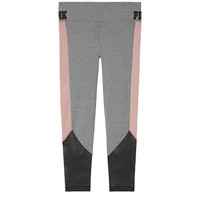 Cotton Ankle Legging with Mesh - PINK - Victoria's Secret