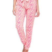 Snake Terry Pant by Juicy Couture