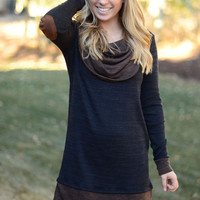 Changes in the Air Tunic - Charcoal