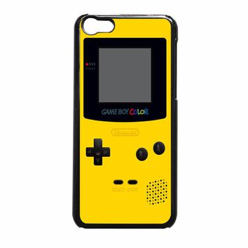 Gameboy Yellow Society Iphone 5C Case