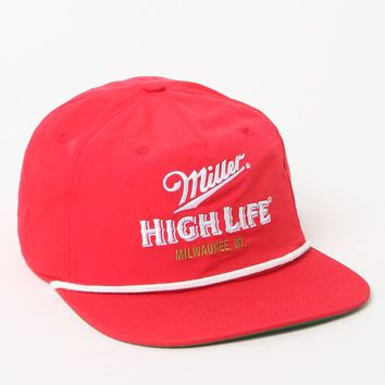 PacSun Miller High Life Snapback Hat - Mens Backpack - Red - One